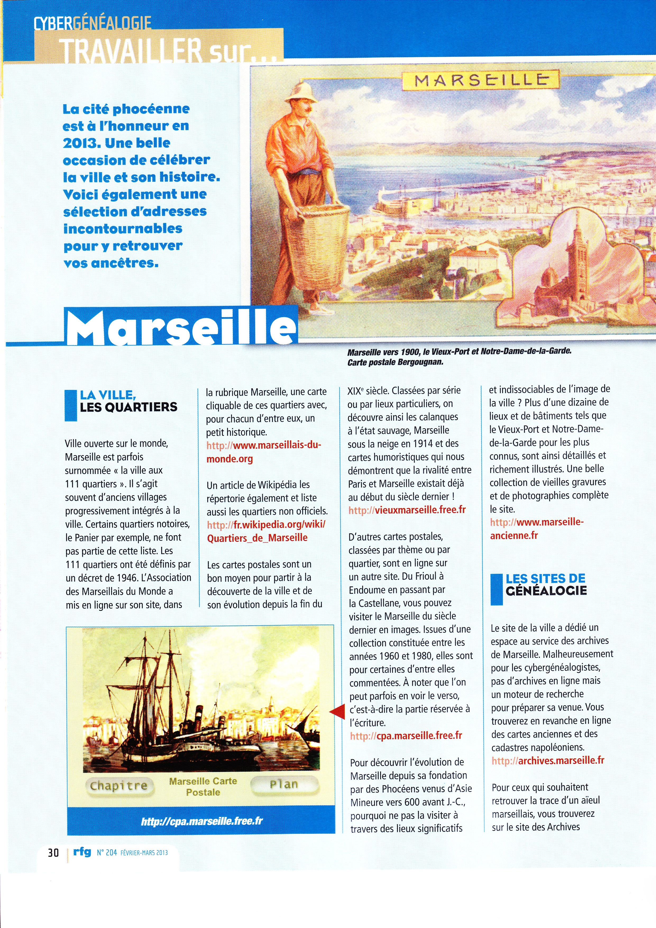Généalogie Marseille 2013 (1)