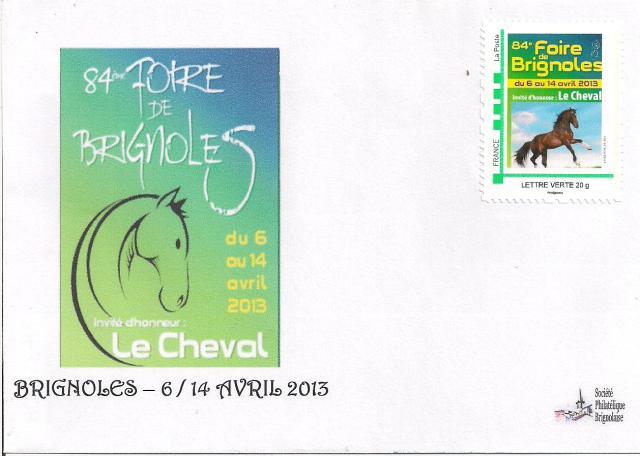 Enveloppe foire de Brignoles 2013