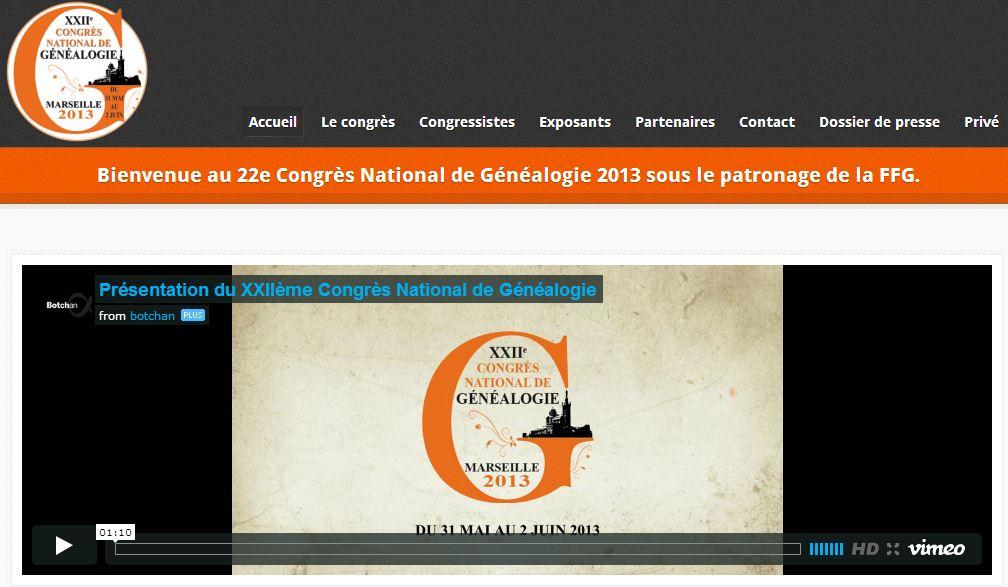 Congrés National de Généalogie