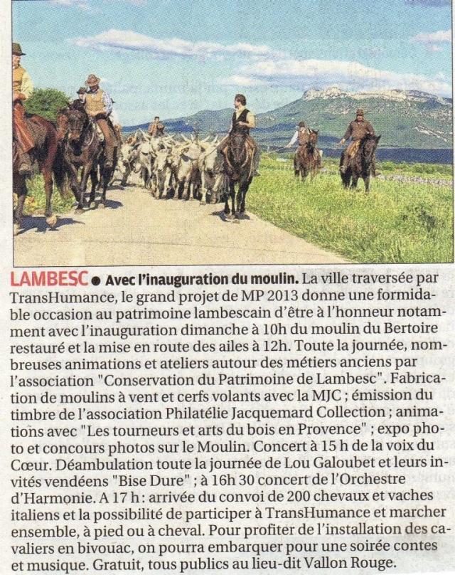 La Provence26-05-13
