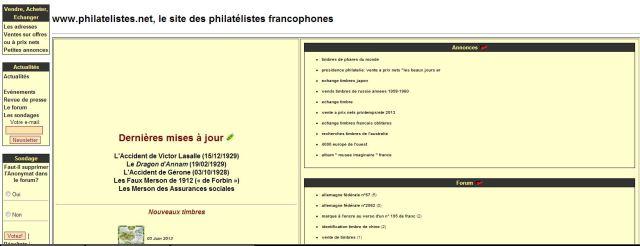Philatélies francophones