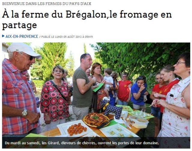 La ferme du Brégalon