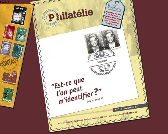 Philatélie Quebec