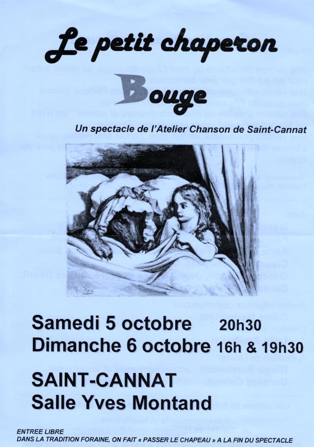 Le Petit Chaperon Bouge (2)