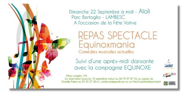 Repas Spectacle Parc Bertoglio
