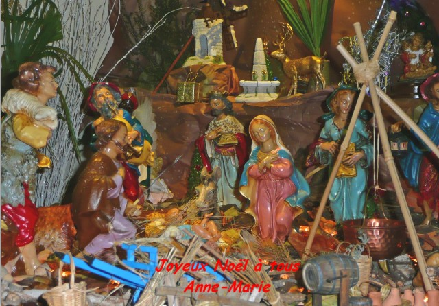 Carte Noël 2013 voeux 2014