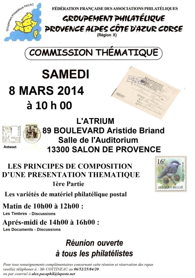 Invitation - Conf-rence du Samedi 08 Mars 2014