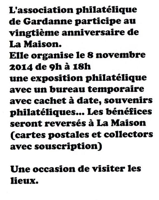 La Maison fête ses 20 ans  (verso)08102014-page-001