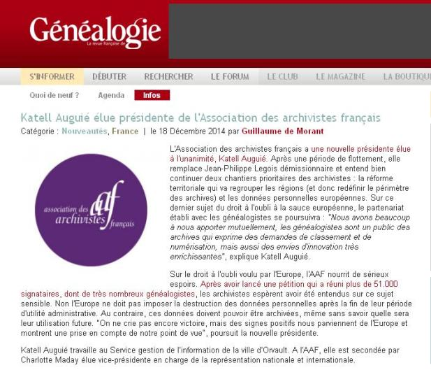 Association Archivistes Français