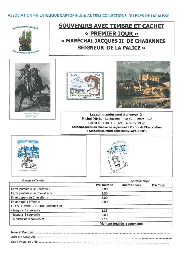 vente 1er jour timbre Maréchal de Chabannes (1)-page-002