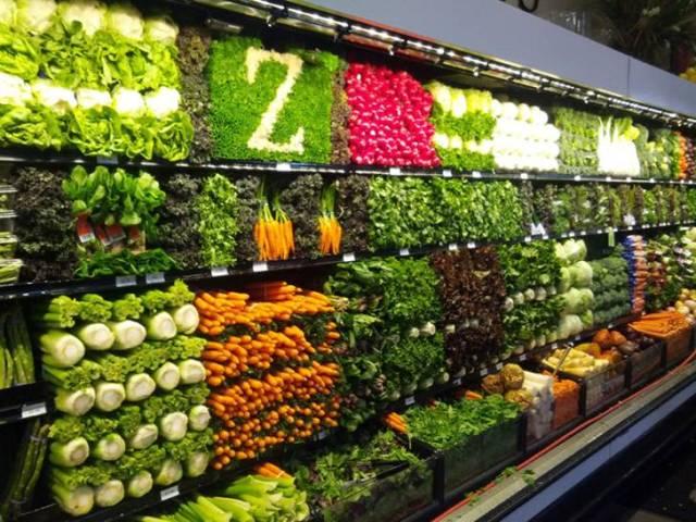 Légumes du Supermarché