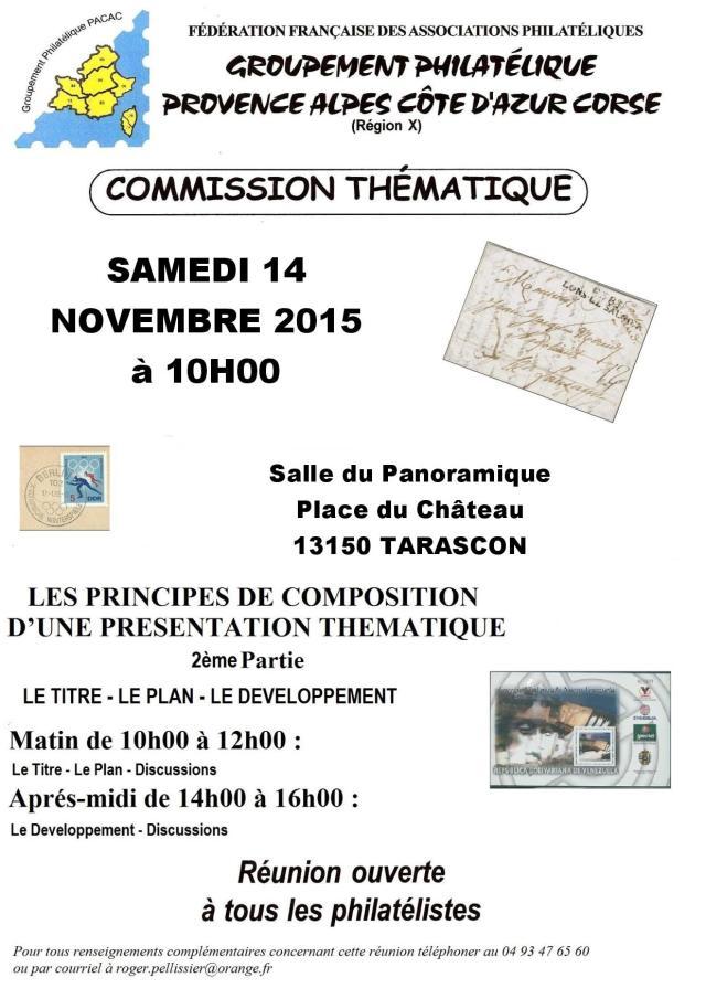 Invitation commission thématique
