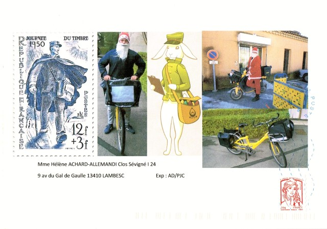 "Art Postal ""Le Facteur"""