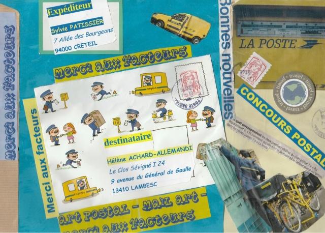 """Art Postal """"Le Facteur"""""""