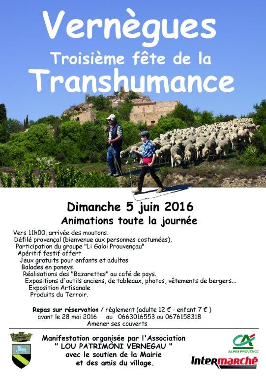 Affiche A5-transhumance 2016