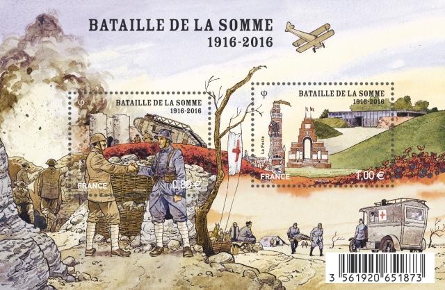 1116094-RF BL Centenaire Bataille Somme Pub